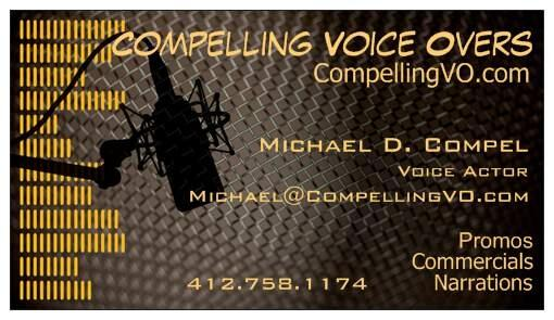 CompellingVO Business Cards