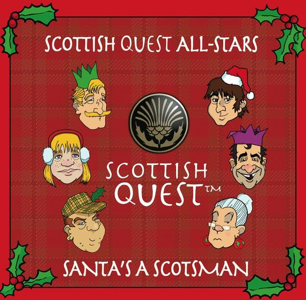 Santa s A Scotsman - cover