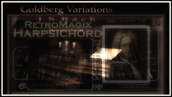 The Goldberg Variations Var 1 Johann Sebastian Bach Syntheway RetroMagix Harpsichord VSTi Software Win Mac