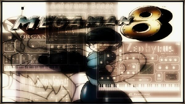 Mega Man 8 Rockman 8 Intro Stage Shusaku Uchiyama Aeternus Brass Zephyrus Organux Syntheway Strings VST Win Mac
