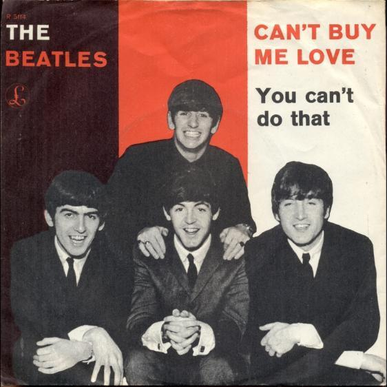 dk06a Can t Buy Me Love You Can t Do That - Parlophone R 5114 -1