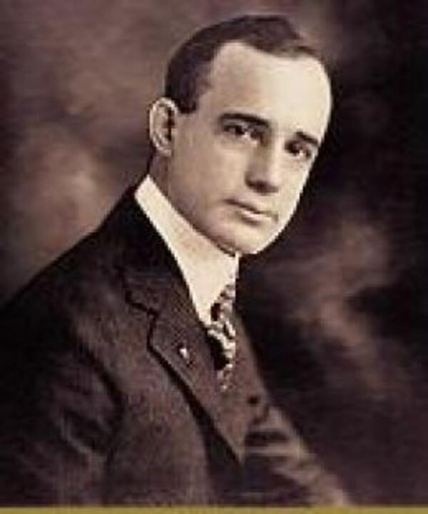 Napoleon Hill young portrait