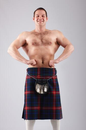 Macho Scotsman