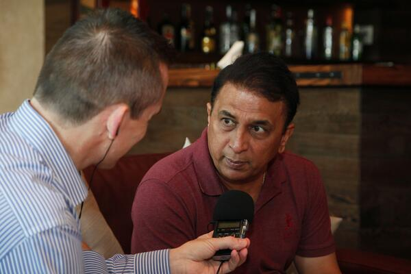 Sunil Gavaskar at The Els Club 12 June 2014