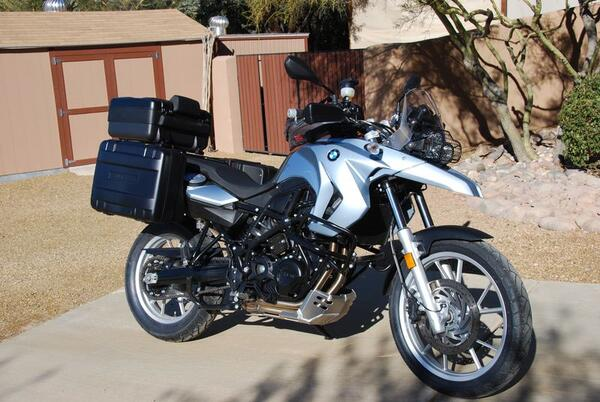 BMW F650GS Twin 2009