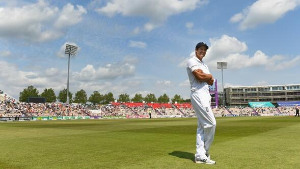 Alastair Cook podcast 589