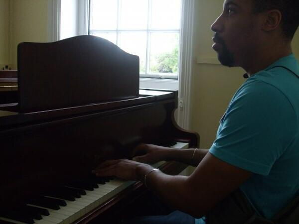 You playing piano in Worcester