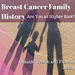 Breast Cancer Family History Are You at