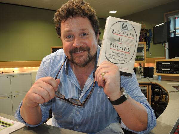 Michael Ball with book