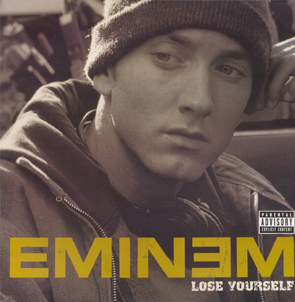 Eminem - Lose Yourself - Front