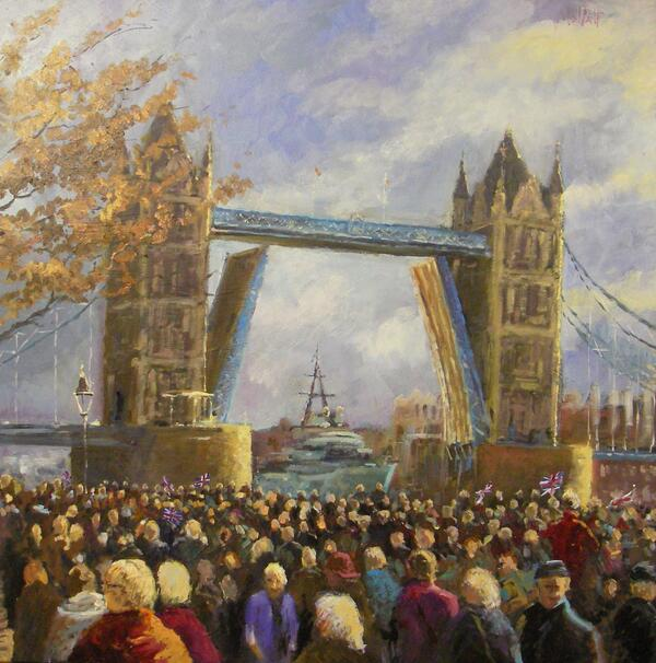 Tower bridge opens 1