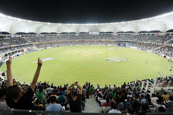 Dubai International Stadium packed for cricket and with the Ring of Fire lights burning brightly is looking forward to more of the same during the upcoming Twenty20 Internationals and One-Day International against N