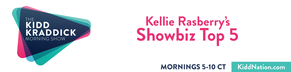 Kellie's Showbiz Top 5