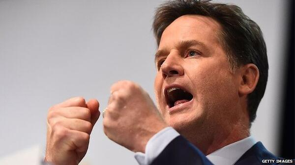 Nick Clegg Getty Images