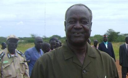 Kuol Manyang Juuk Governor of Jonglei state South Sudan ST