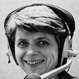 RadioTalkingBook Photo of Lady with Headset on