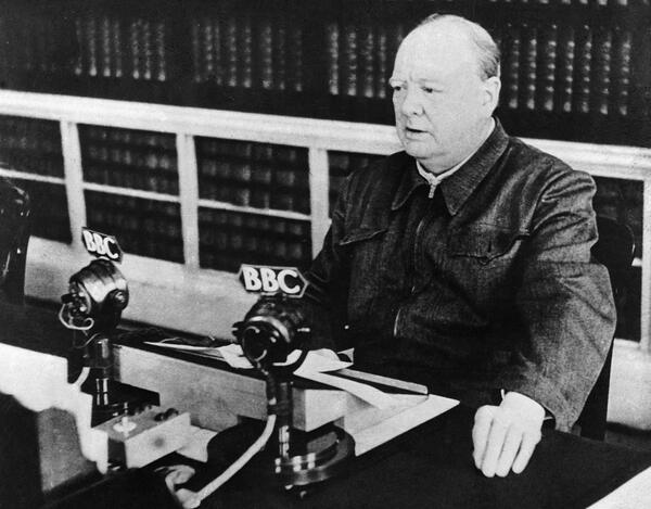 Churchill Speech 1