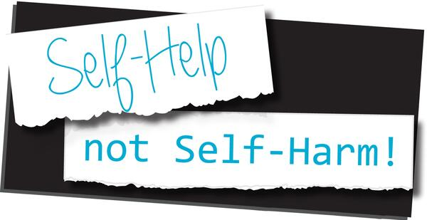 self help not self harm logo