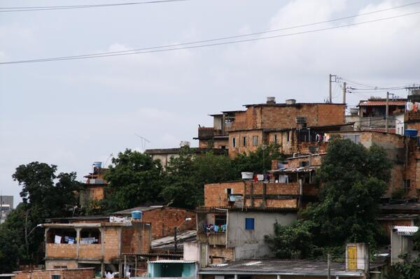 Favela - Creative Commons - Benjamin Thompson