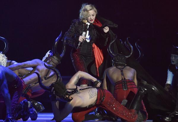 Madonna Recovering from her fall