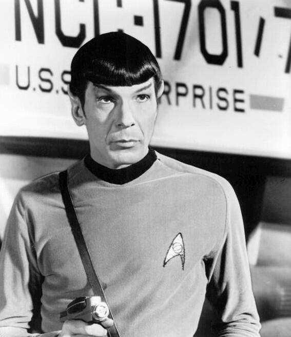 Leonard Nimoy Mr. Spock Star Trek