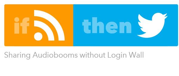 IFTTT Audioboom