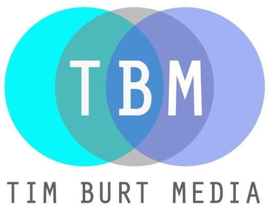 Tim Burt Media Voice-over VO audio production logo