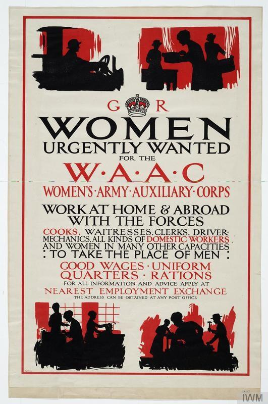 women s army and auxiliary corps Introducing the women's auxiliary army corps over one hundred thousand women between the ages of twenty-one and forty-four stepped up to the plate when they were called to action during world war ii[1.