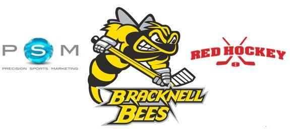 PSM - Bees - Red Hockey