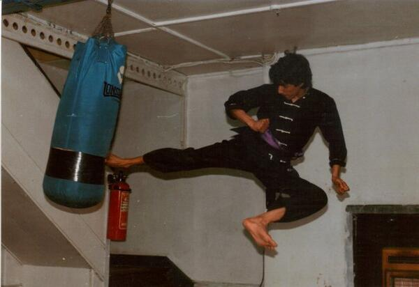 Harun Rabbani s Flying Kick 1986