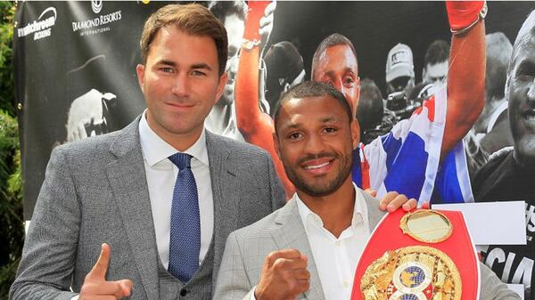 eddie hearn kell brook