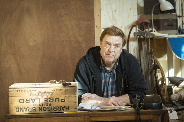 John Goodman in rehearsals for American Buffalo. Photo by Johan Persson - 205