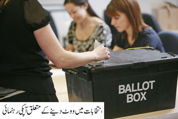 Urdu-VotinginAnElection