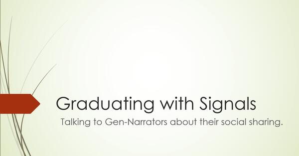 Graduating with Signals