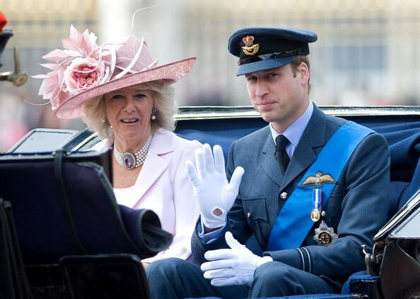 Prince William Camilla Parker Bowles Trooping Dx2ZDtIEm0Tl