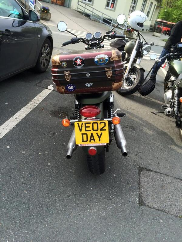 VE DAY BIKE