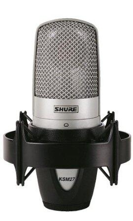 Shure KSM-27 Mic with shock mount