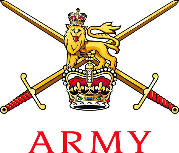 British Army Badge Graduated