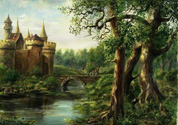 castle in forest21