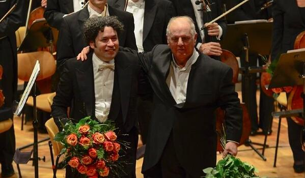 Barenboim and Dudamel