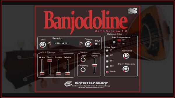 Banjodoline Virtual Banjo and Mandolin Incl Octave Mandolin Banjolin Electric Mandolin VSTi