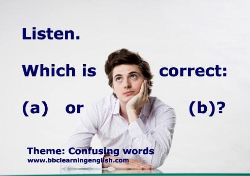confusing words question
