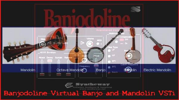 Syntheway Banjodoline Virtual Banjo And Mandolin VSTi Plugin Software