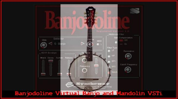 Banjodoline Virtual Banjo And Mandolin VSTi Software Banjolin Electric Mandolin Octave Mandolin VST Banjo Preset