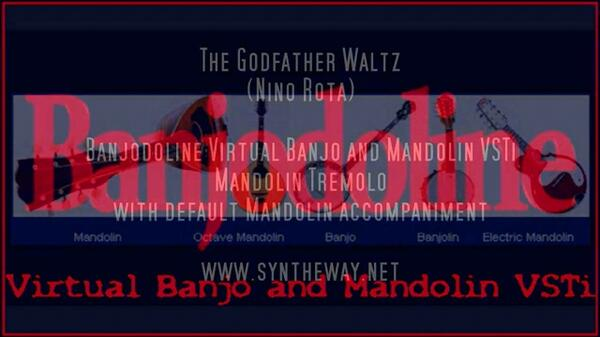 The Godfather Waltz Nino Rota Banjodoline Mandolin Tremolo