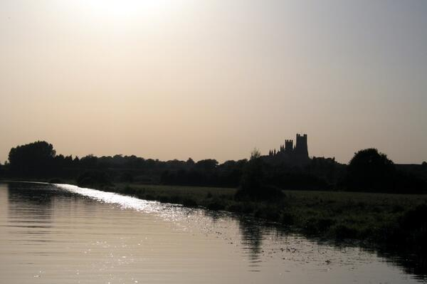 River Great Ouse Ely Cathedral