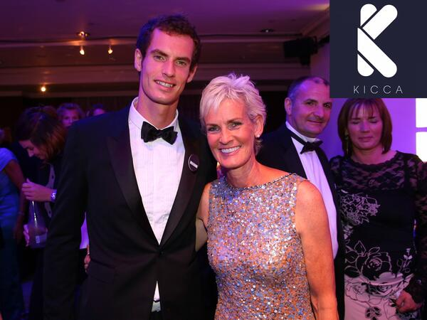 Judy Murray on role model am