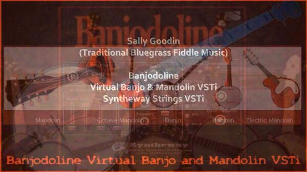 Sally Goodin Traditional Bluegrass Fiddle Music Banjodoline Virtual Banjo Mandolin VST Reed