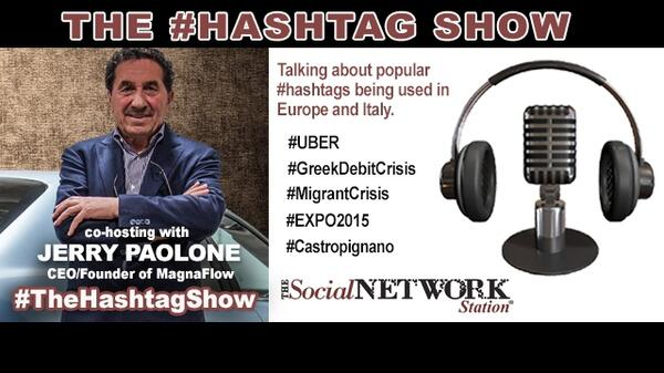 Hashtag show with Jerry Paolone July 7 2015 Libsyn