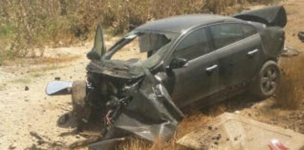 Wednesday - Car Driver Injured in Train Crossing Crash 1